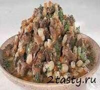 Рецепт Баранина с фасолью (фото)