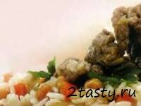 Рецепт Отварная баранина с горохом в белом соусе (фото)