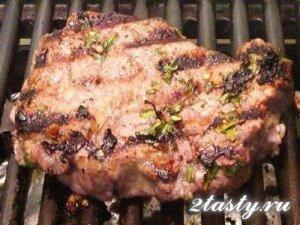 Рецепт Бифштекс из телятины (фото)