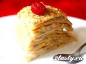 рецепт торт муравейник с грецким орехом