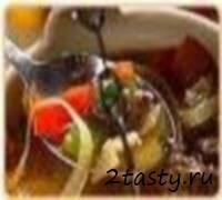 Рецепт Холодное отварное мясо с помидорами и стручковым перцем (фото)
