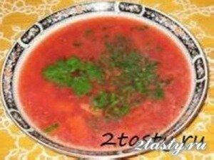 Рецепт Борщок (фото)