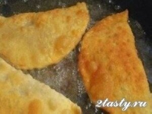 Рецепт Настоящие чебуреки (фото)