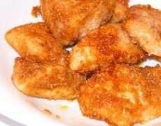 Рецепт Хрустящие куриные наггетсы зажаренные во фритюре (фото)