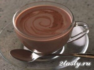 Рецепт Горячий шоколад (фото)