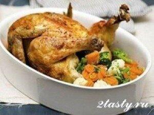 Рецепт Цыпленок в духовке (фото)