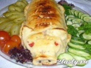 Рецепт Фальшивый поросенок из курицы (фото)