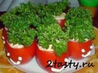 Рецепт Фаршированные помидоры (фото)