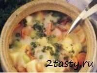 Рецепт Густой рыбный суп (фото)