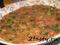 Рецепт Горох с помидорами и луком (фото)