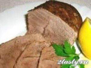 Рецепт Говядина запеченная в фольге (фото)
