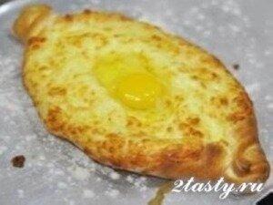 Рецепт Хачапури по-Аджарски (фото)