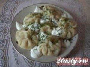 Рецепт Грузинские хинкали (фото)
