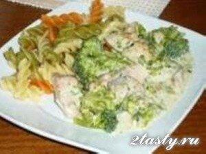 Рецепт Индейка в сливочном соусе (традиционная) (фото)