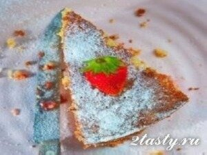 Фото: Клубничный пирог