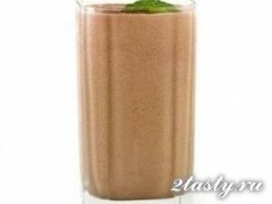 Рецепт Кофейный коктейль с молоком (фото)