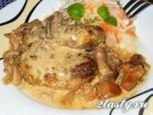 Рецепт Котлеты из печени с баклажаном (фото)