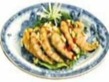 Фото: Королевские креветки фаршированные крабовым мясом