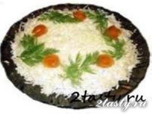 Рецепт Салат из курицы под шубой (фото)