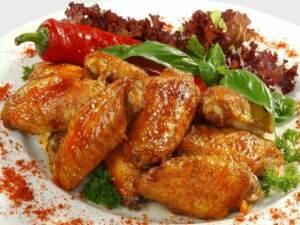 Рецепт Куриные крылышки по-мексикански (фото)