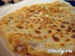 Рецепт Тонкие лепешки с начинкой из картофеля (фото)