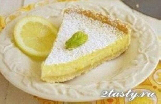 Рецепт Французский лимонный торт (фото)