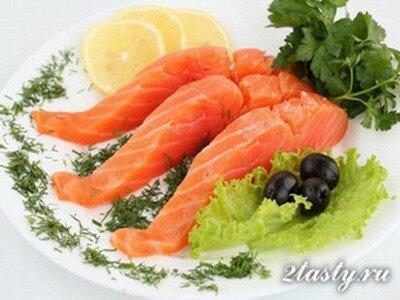 Рецепт Виды и польза красной рыбы (фото)