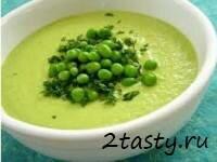 Фото: Молочный суп с горохом