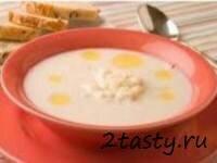 Фото: Молочный суп с картофелем и свежей капустой