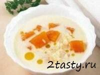Рецепт Молочный суп с тыквой (фото)