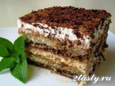 Рецепт Мороженое тирамису (фото)