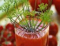Фото: Напиток из помидоров и корня сельдерея