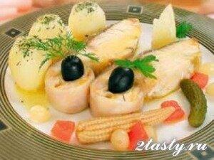 Рецепт Осётр, севрюга или стерлядь отварные (фото)