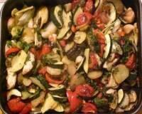 Фото: Овощное рагу запеченное с сыром фета