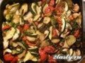 Фото Овощное рагу запеченное с сыром фета