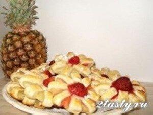 Фото: Печенье с ананасами