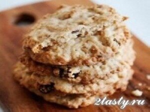 Рецепт Овсяное печенье из Starbucks (фото)