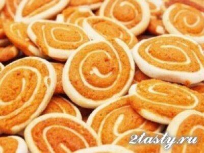 Рецепт Творожное печенье с безе (фото)