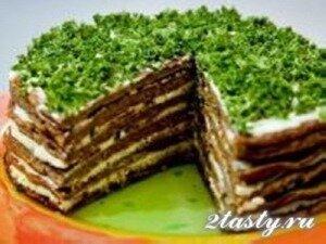 Рецепт Печеночный торт (фото)