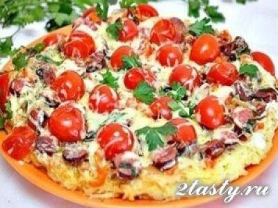 Фото: Картофельная пицца на сковороде