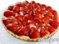 Фото Ягодный пирог с клубникой