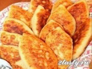 Рецепт Пирожки с куриным фаршем (фото)