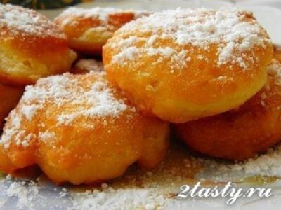 Рецепт Пончики на кефире (фото)