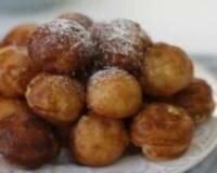 Рецепт Пончики с орехами и вишней (фото)
