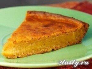 Фото: Постный яблочный пирог без дрожжей