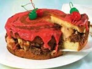 Фото: Пуншевый торт с ромом и шоколадом