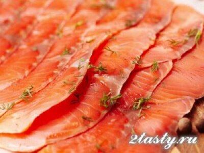 Рецепт Солёная рыба (фото)