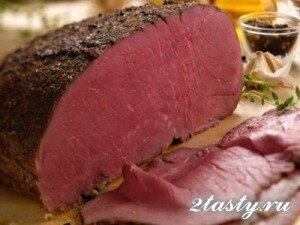 Рецепт Ростбиф из говядины (фото)