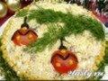 Фото Новогодний салат