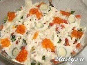Рецепт Федоровский салат (фото)